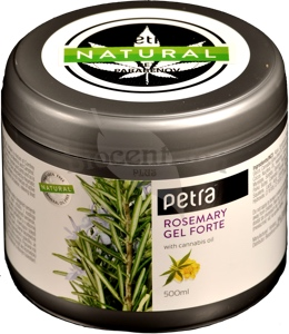 Rosemary gél Forte + konope 500ml
